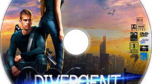 divergent dvd label