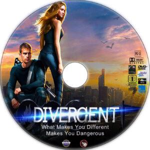 divergent dvd label