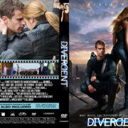 Divergent (2014) R0 Custom DVD Cover