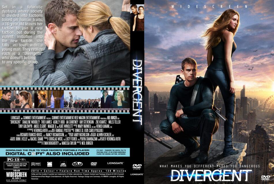 Divergent Dvd Cover 2014 R0 Custom Art