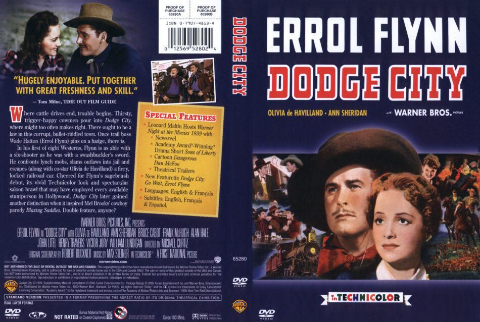 Dodge City dvd cover