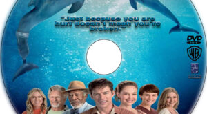 Dolphin Tale 2 dvd label