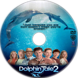 Dolphin Tale 2 dvd label
