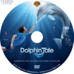 Dolphin Tale (2011) Custom DVD Label