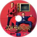 Dom Hemingway (2013) R1 Custom DVD Label
