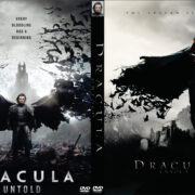 Dracula Untold (2014) Custom DVD Cover