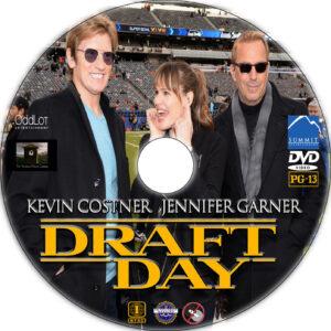 draft day dvd label