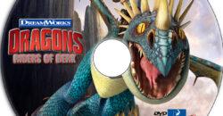 dragons riders of berk dvd label