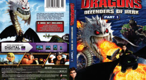 dragons Defenders of Berk dvd cover