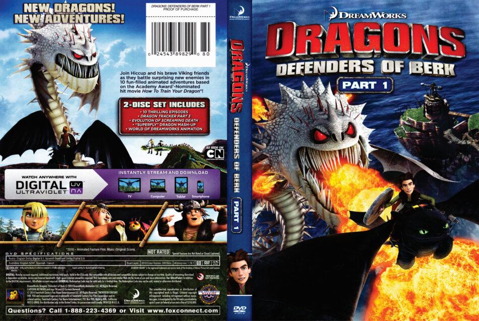 dragons Defenders of Berk dvd cover