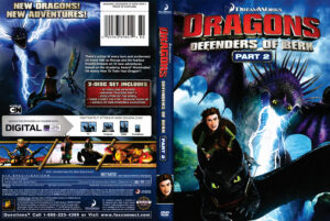 dragons: Defenders of Berk dvd cover