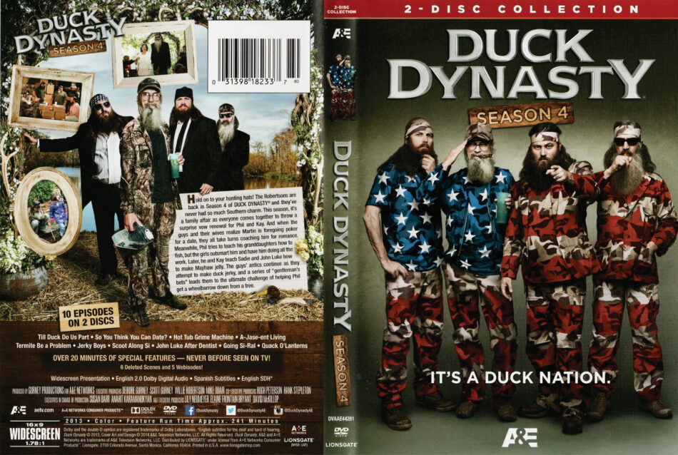 Duck Dynasty dvd cover