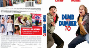 Dumb and Dumber To dvd cover