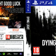 Dying Light: The Following - Enhanced Edition dvd cover (2016) PAL PS4
