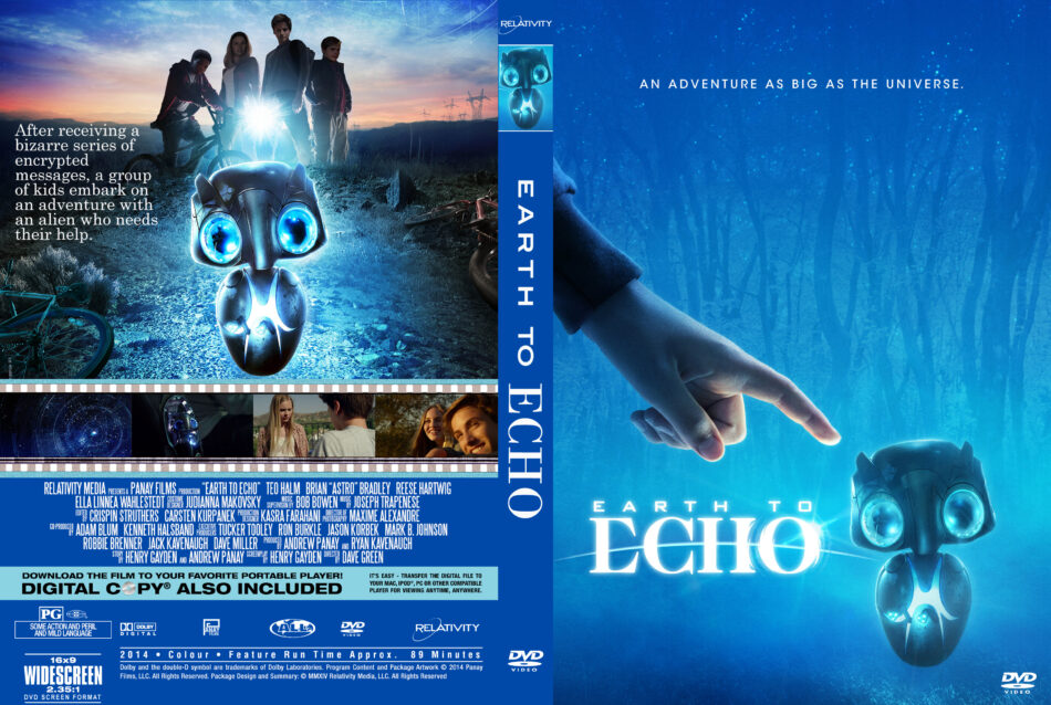 Earth To Echo dvd cover