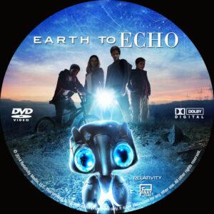 Earth To Echo Custom dvd label