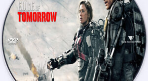 Edge of Tomorrow dvd label