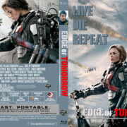 Edge of Tomorrow (2014) R0 Custom Blu-Ray