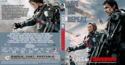 Edge of Tomorrow blu-ray dvd cover
