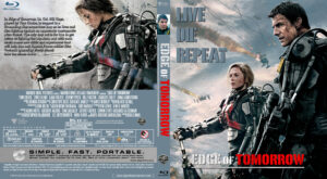 Edge of Tomorrow blu-ray dvd cover