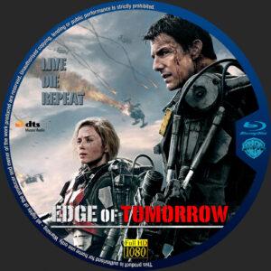 free blu-ray dvd label for Edge of Tomorrow