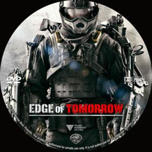 Edge of Tomorrow dvd label