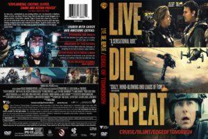 Edge of Tomorrow dvd cover