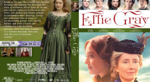 Effie Gray Custom dvd Cover