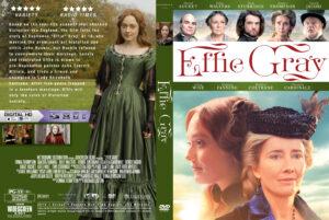 Effie Gray Custom dvd Cover