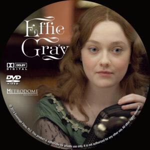 Effie Gray Custom dvd label