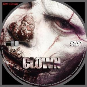 Clown dvd label