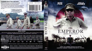 Emperor blu-ray dvd cover