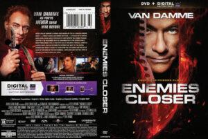 Enemies Closer dvd cover