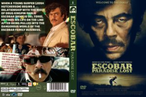 Escobar: Paradise Lost dvd cover