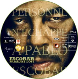Escobar: Paradise Lost dvd label