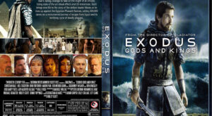 Exodus Gods & Kings DvD case