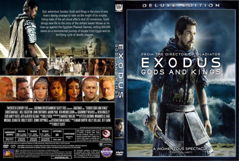 Exodus Gods Kings Dvd Cover 2014 R1 Custom Art