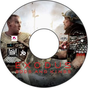 Exodus: Gods and Kings dvd label
