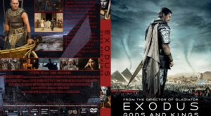 Exodus: Gods and Kings dvd cover