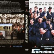 Expendables 3 (2014) R0 Custom DVD Cover