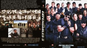 Expendables 3 dvd cover