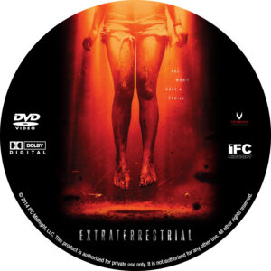 Extraterrestrial dvd label