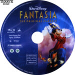 Fantasia (1940) Blu-Ray DVD Label