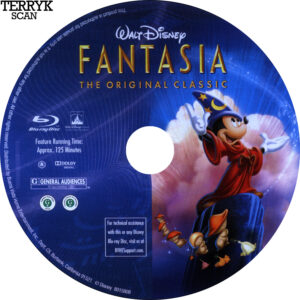 Fantasia (Blu-ray) Label