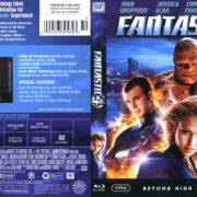 Fantastic 4 (2007) Blu-Ray