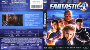 Fantastic 4 (Blu-ray) dvd cover