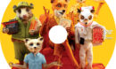 Fantastic Mr. Fox (2009) Custom DVD Label