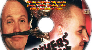 Fathers' Day dvd label