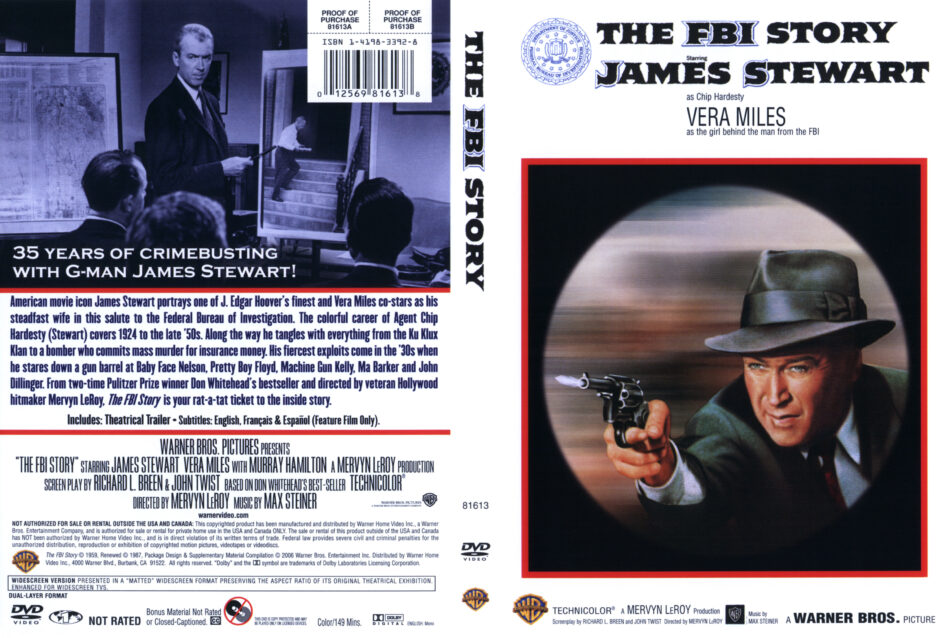 The FBI Story dvd cover