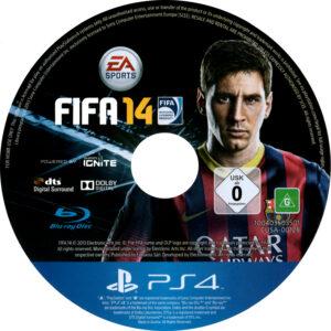 Fifa 14 PAL CD Cover